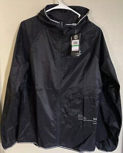 UNDER ARMOUR UA QUALIFIER STORM PACKABLE RUNNING JACKET MENS 1326597 NEW SIZE L