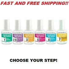 Cuccio Pro Powder Polish Dip System, Treatment Selection from Steps 1-6 SALE!!!