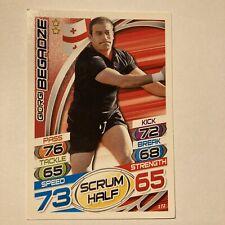 Topps Rugby Attax Card 2015 #172 Giorgi Begadze Georgia Scrum Half