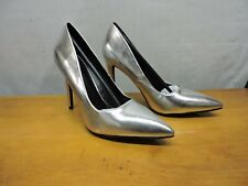New Silver high heels by Delicious. Size 10