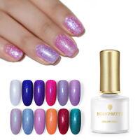 BORN PRETTY  Holographic UV Gel Soak Off Gel Polish Nail Art