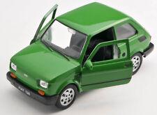 BLITZ VERSAND Fiat 126 p grün Welly Modell Auto 1:27 NEU & OVP
