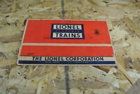 Lionel 6417 PRR N5c Porthole Caboose box only