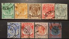 STRAITS SETTLEMENTS  1936 between  mi.nr 193/204 wm 5