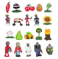 Hot! Lot of 20 PCS Different Plants vs Zombies Anime Action Figures PVZ (2 Sets)
