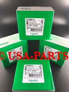 Schneider Electric GV2ME16 * Authentic * Brand New * Ships Same Day