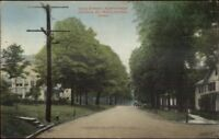 Middletown CT High St. c1910 Postcard rpx
