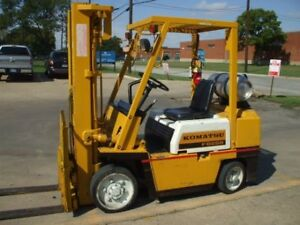 Komatsu Forklift Service Manuals on Flash Drive
