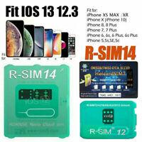 RSIM14/12+2019 R-SIM Nano Unlock Card Fit iPhone X/8/7/6/6s/5s/ 4G iOS 12 Newly
