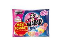 Lot Revendeur 3,180kg  Bubble Mix, Malabar 10x 318 g dlc longue