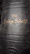 Biblia-evangelische Luther Bibel Berlin 1914-Die Heilige Schrift-Theologie-Gott