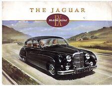Jaguar Mark IX Mk 9 Nine 1958-61 Original UK Market Foldout Sales Brochure