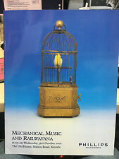 Phillips Auction Mechanical Music & Railwayana 31/10/2001