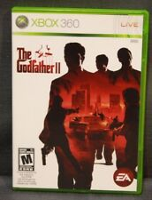 The Godfather II (Microsoft Xbox 360, 2009) Video Game