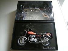 Minichamps 1/12 Kawasaki Z1 900 Caramelo Marrón 1972, Classic bikeno 25 dañado en muy buena condición