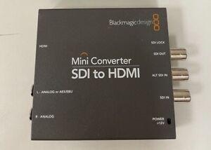 Black Magic design Mini converter SDI To HDMI