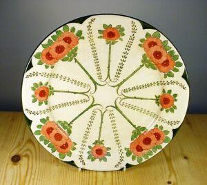 Royal Doulton Art Nouveau Floral Plate D3060