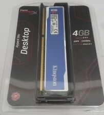 HyperX blu Desktop Memory DDR3 4gb 1333mhz (lot of 2)