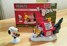 !! Snoopy + Woodstock Figur / Peanuts -Snoopy`s Game Night / Neu & OVP !!