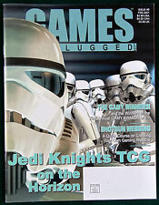 Games Unplugged.com Magazine Adventure & War Gaming Issue #5  Star Wars Jedi Mag