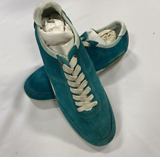 Dolce & Gabbana Turquoise Trainers Mens Size UK 8 *REFAB6