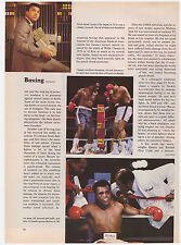 Original 1983 Sports Illustrated Article- Boxing Head Trama- Muhammed Ali, CTE
