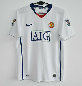 MANCHESTER UNITED rare NIKE shirt #7 RONALDO trikot jersey maillot 2008-09