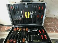 Jensen Jtk 17 Electrical Technician Tool Case With Tools Used