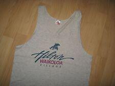 Hawaii Hilton Tank Top - Vintage 1980's Waikoloa Village USA Muscle Shirt Medium