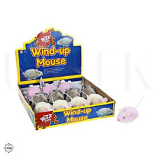 Wind Up Mouse - Plastic Clockwork Mice Christmas Stocking Filler Prank Toy Gift