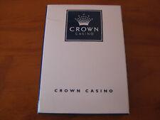 .Crown Casino Poker, Blackjack playing cards.