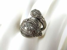 """FAB VINTAGE 1964 TOWLE  STERLING SILVER  """"El Grandee"""" BY-PASS """"Spoon"""" RING Sz  7"""