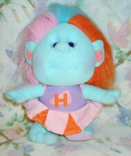 "VINTAGE 1989 HOBNOBBINS 9"" STUFFED CLOTH CHEERLEADER TROLL DOLL COUSIN RAH RAH"