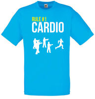 Rule 1: Cardio, ZombieLand Inspired Men's Printed T-Shirt