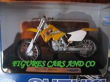 MOTO  1/18  SUZUKI RM-Z250  1999 MOTOCROSS WELLY