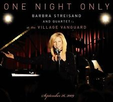 Barbra Streisand One Night Only Live Village Vanguard 2009 CD & DVD set NEW!