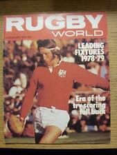 01/09/1978 Rugby World Magazine: September Edition - Complete Issue of the month