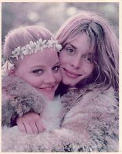 Nastassia Kinski Jodie Foster in fur 8x10 Photo F15737