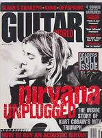 MARCH 1995 GUITAR WORLD vintage music magazine NIRVANA - KURT COBAIN
