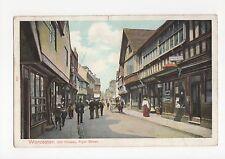 Worcester, Fryer Street Postcard, A411