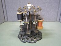 Vintage Cast Iron Thread Holder Sewing Tailoring Tools