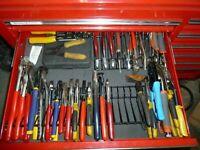 Pliers Holder Rack Tool Drawer Storage Toolbox Garage Wrench Organizer Metal
