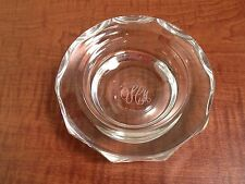 Vintage Kosta Boda  Sweden Crystal Ashtray Signed SIAP? No 76601 with engraving