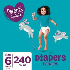 Parent's Choice Disposable Diapers, Size 6, 240 Count like pampers