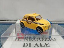 BURAGO-MODELLINO AUTO FIAT 500 1965 TAXI NEW-YORK SCALA 1:43 DIE-CAST