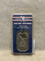 EAGLE CREST ST. MICHAEL ARCHANGEL RELIGIOUS NECKLACE DOG TAG / KEYCHAIN - NEW