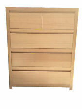 "Tassie oak ""Freedom"" Tallboy Chest of drawers--Direct Factory Outlet"