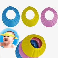 1PC Adjustable Baby kids Shampoo Bath Shower Hat Cap Wash Hair Waterproof Shield