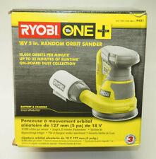 Ryobi P411 One+ 18 Volt 5 Inch Cordless Battery Operated Random Orbit Power