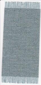 Dollhouse Miniature Woven Accent Rug Blue Slate Weave HWRS417K